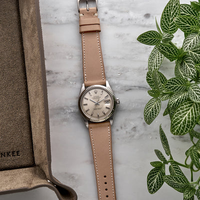 The Davenport Watch Strap In Beige alternate image.