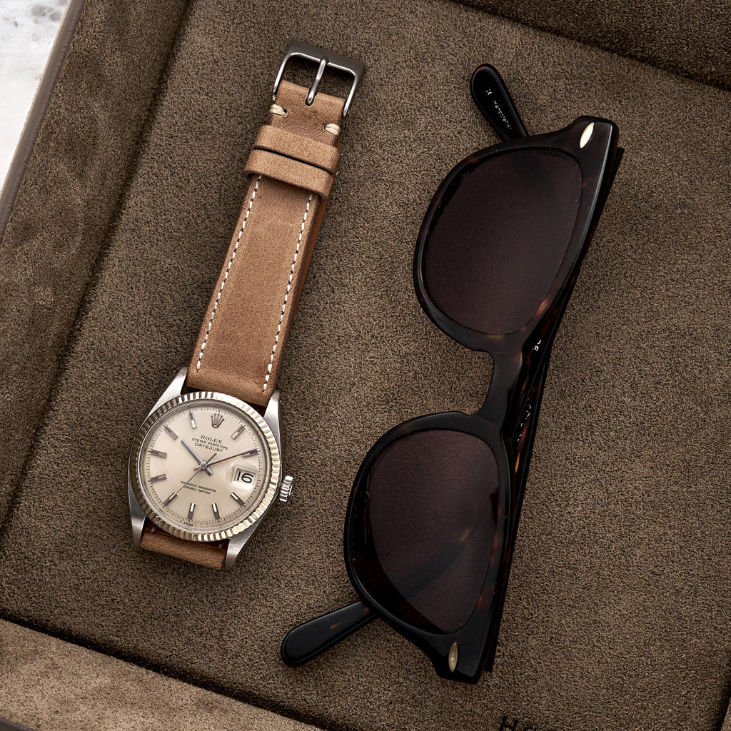 The Davenport Watch Strap In Tan