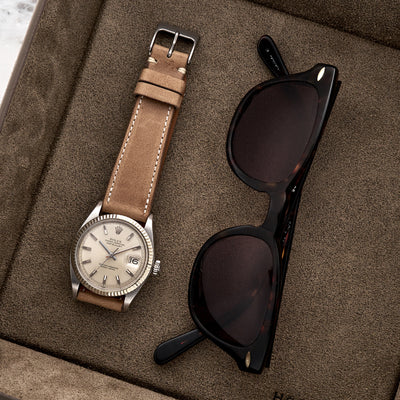 The Davenport Watch Strap In Tan alternate image.
