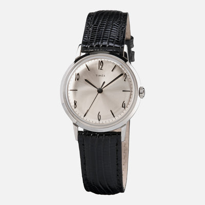 TIMEX Marlin Hand-Wound 34mm With Silver Dial alternate image.