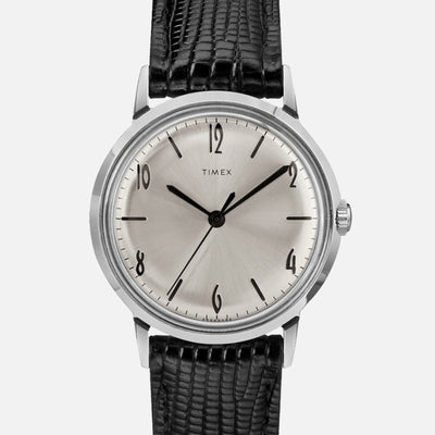 TIMEX Marlin Hand-Wound 34mm With Silver Dial