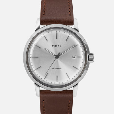 TIMEX Marlin Automatic 40mm With Silver Dial alternate image.
