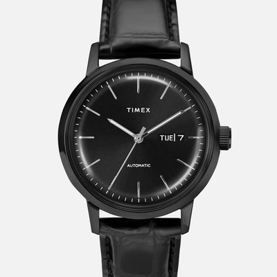 TIMEX Marlin Automatic Day-Date 40mm With Black-IP Coating