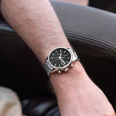 TAG Heuer Carrera Calibre 16 CBK2110 Black Dial On Bracelet alternate image.