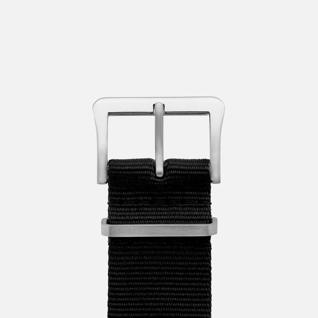 UTE Nylon Watch Strap In Black