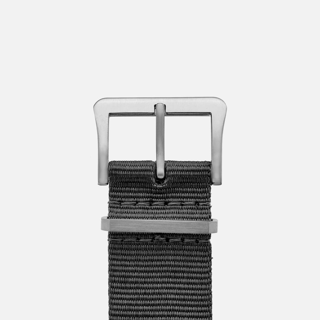 UTE Nylon Watch Strap in Grey