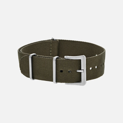 UTE Nylon Watch Strap In Olive
