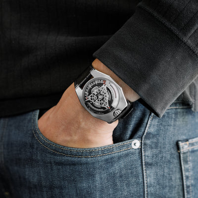 Urwerk UR-100 SpaceTime Iron alternate image.