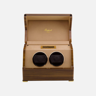 Perpetua III Touch Screen Watch Winder In Walnut