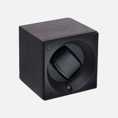 Natural Wenge Wood Swiss Kubik Watch Winder