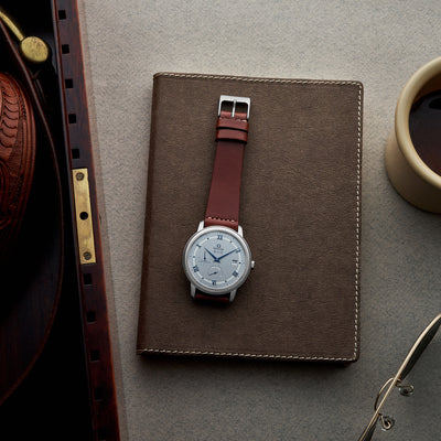 The Unlined Cooper Watch Strap In Light Brown alternate image.