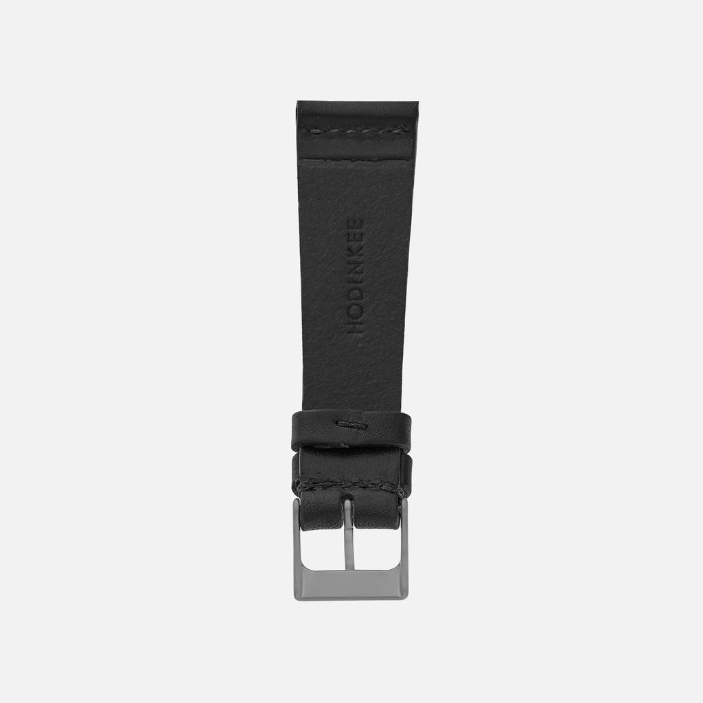 The Unlined Cooper Watch Strap In Black