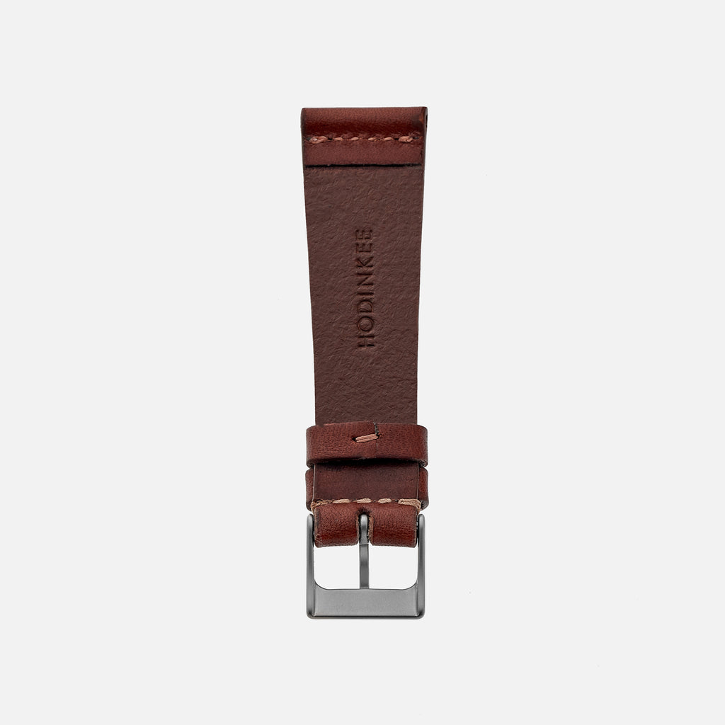The Unlined Cooper Watch Strap In Light Brown