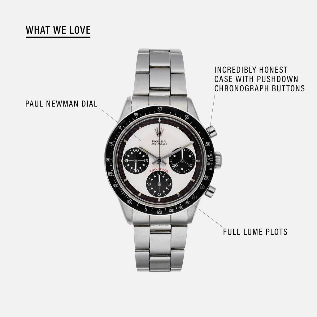 1969 Rolex 'Paul Newman' Daytona Reference 6241