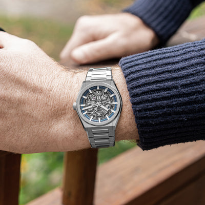 Zenith Defy Classic Skeleton In Titanium alternate image.