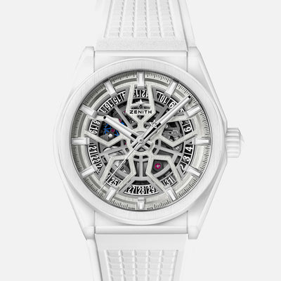 Zenith Defy Classic Skeleton In White Ceramic