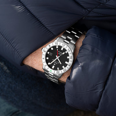 Zodiac Super Sea Wolf GMT ZO9405 Stainless Steel alternate image.
