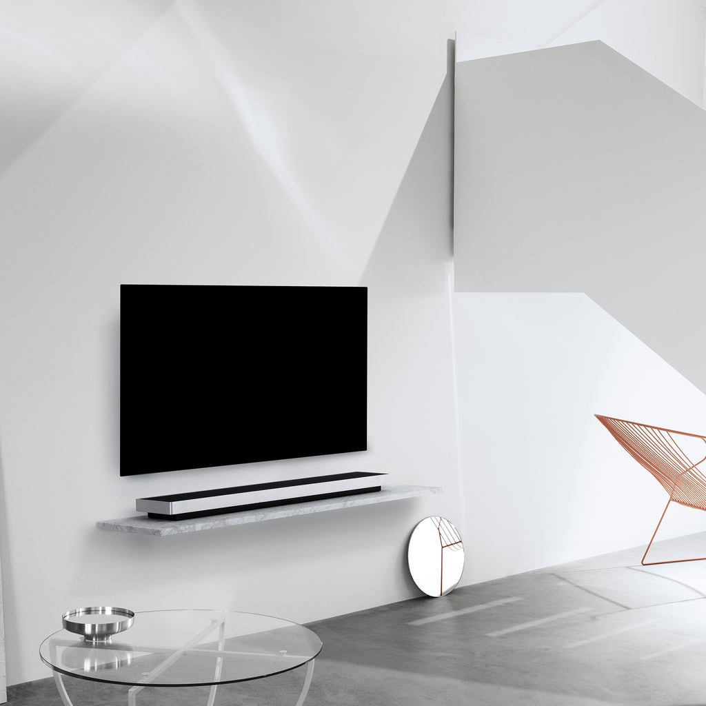 Bang & Olufsen Beosound Stage Soundbar In Silver