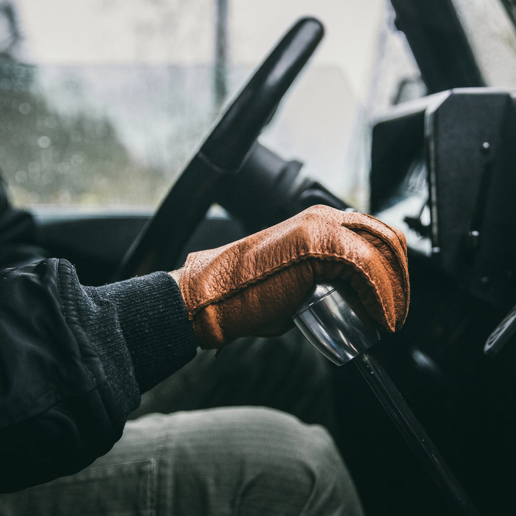 Hestra For HODINKEE Limited Edition Peccary Gloves In Cork