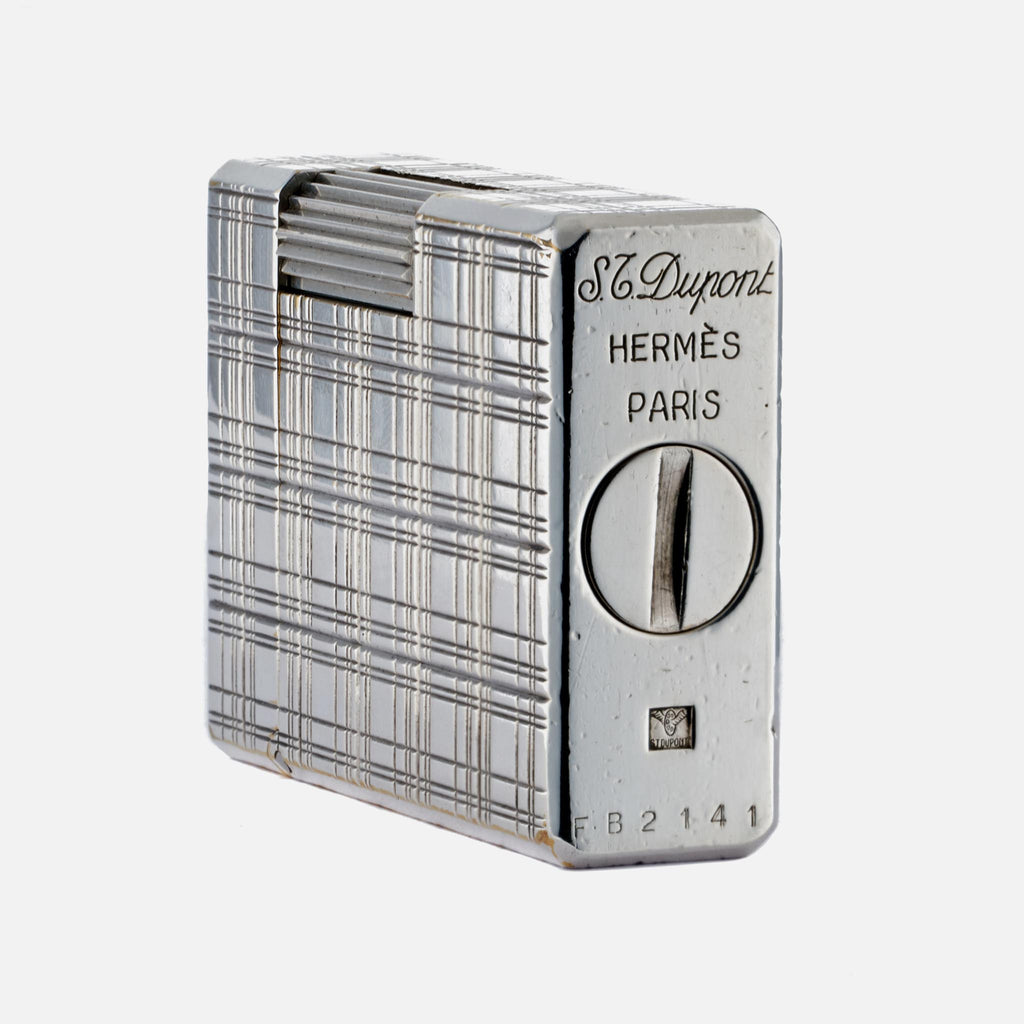 1970s S.T. Dupont And Hermès Silver Lighter