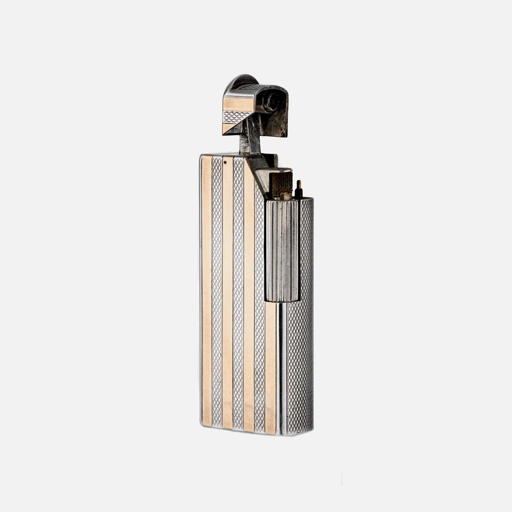 1960s Silver-Plated Dunhill Lighter