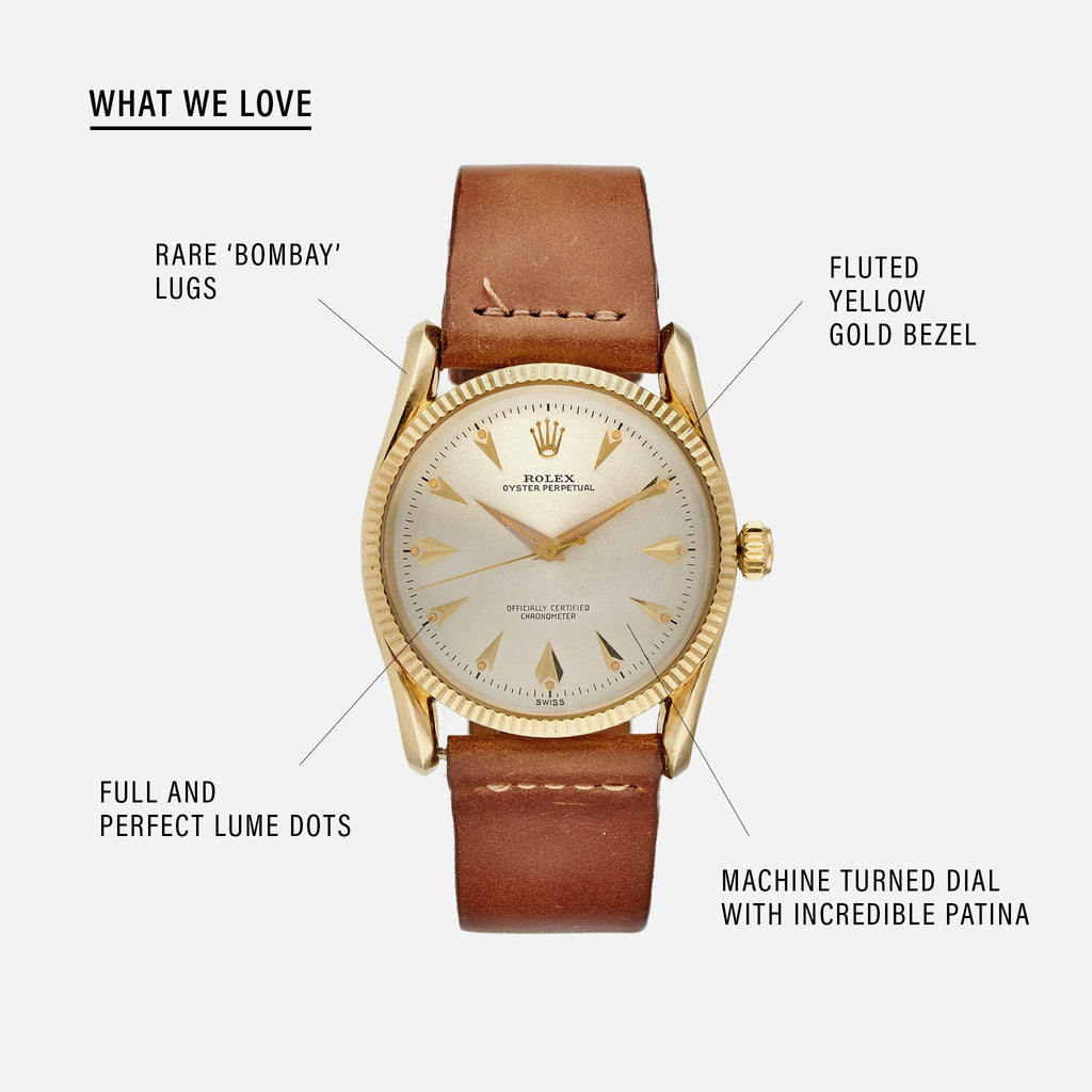 1959 Rolex Oyster Perpetual 'Bombay' Reference 6593