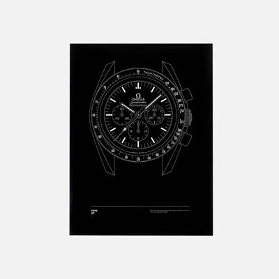 Omega Speedmaster Moonwatch Professional Print