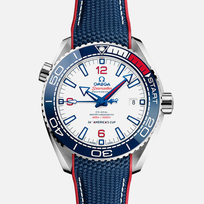 OMEGA Seamaster Planet Ocean 600M Co‑Axial Master Chronometer 43.5mm 36th America's Cup Limited Edition