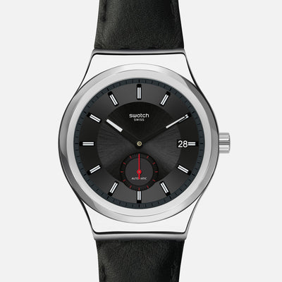 Swatch SISTEM51 Petite Seconde Black SY23S400
