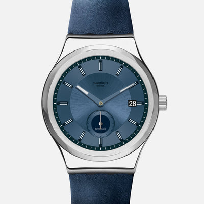 Swatch SISTEM51 Petite Seconde Blue SY23S403