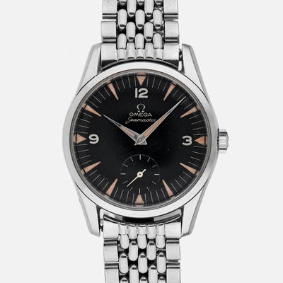1950s Omega Seamaster With Very Rare Dial