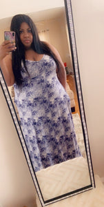 Blue Cloud 9 Maxi - JohntinesBoutique.com