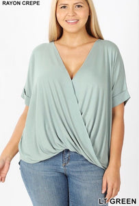 Nelly Top in Light Green - JohntinesBoutique.com