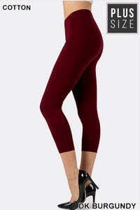 Dark Burgundy Capri - JohntinesBoutique.com