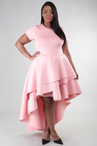 Pretty in Pink Tiered Dress - JohntinesBoutique.com