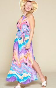Water Color Maxi - JohntinesBoutique.com