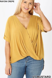 Nelly Top in Mustard - JohntinesBoutique.com