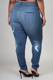Distressed Honey Dip Jeans( please read description ) - JohntinesBoutique.com