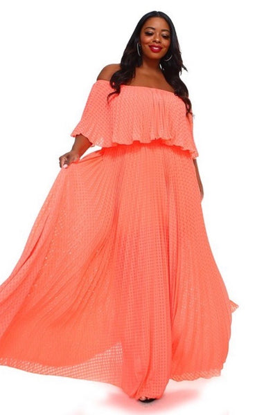 Spring Sasha in Coral - JohntinesBoutique.com