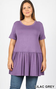 Celeste Top in Lilac Grey - JohntinesBoutique.com