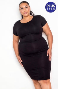 Black cardinal dress - JohntinesBoutique.com