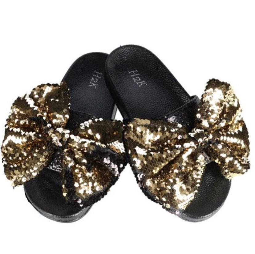 Sasha Bow Slipper - JohntinesBoutique.com