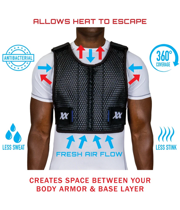 Maxx-Dri 4.0 - The Best Body Armor Ventilation & Cooling Vest For Police Officers Just Got Even Better