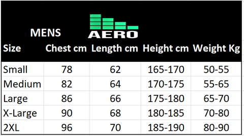Size Chart Best moisture wicking fabric compression tank singlet top shirt men women cooling under bulletproof concealable body police vest