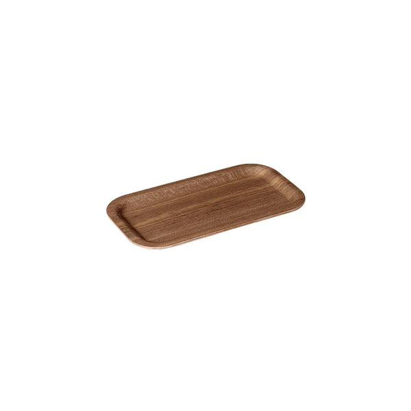 KINTO NONSLIP TRAY 220X120MM / 9X5IN TEAK