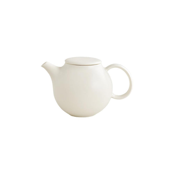 KINTO PEBBLE TEAPOT 500ML / 18OZ WHITE