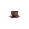 KINTO PEBBLE CUP & SAUCER 180ML / 6OZ BROWN THUMBNAIL 5