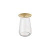 KINTO LUNA VASE 80X130MM / 3X7IN CLEAR THUMBNAIL 0