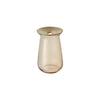 KINTO LUNA VASE 80X130MM / 3X7IN BROWN THUMBNAIL 3