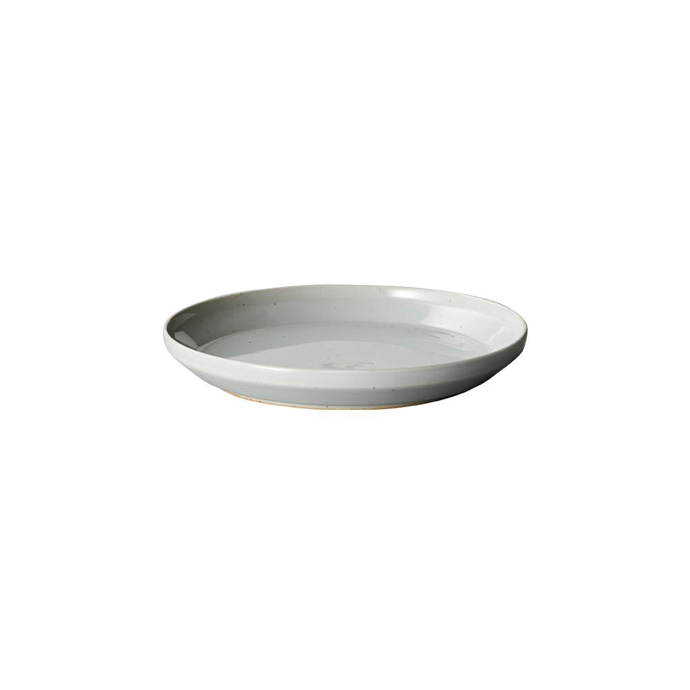 KINTO RIM PLATE 160MM / 6IN  GRAY